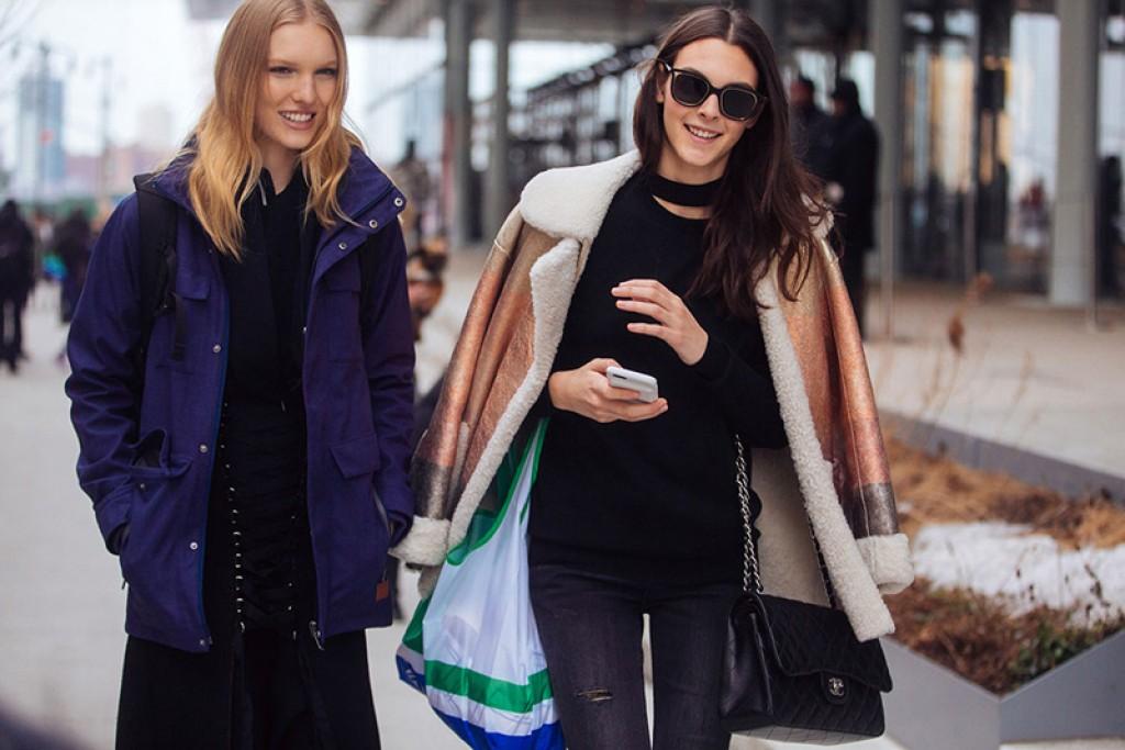 Model Street Style At New York Fashion Week Elite Model Look
