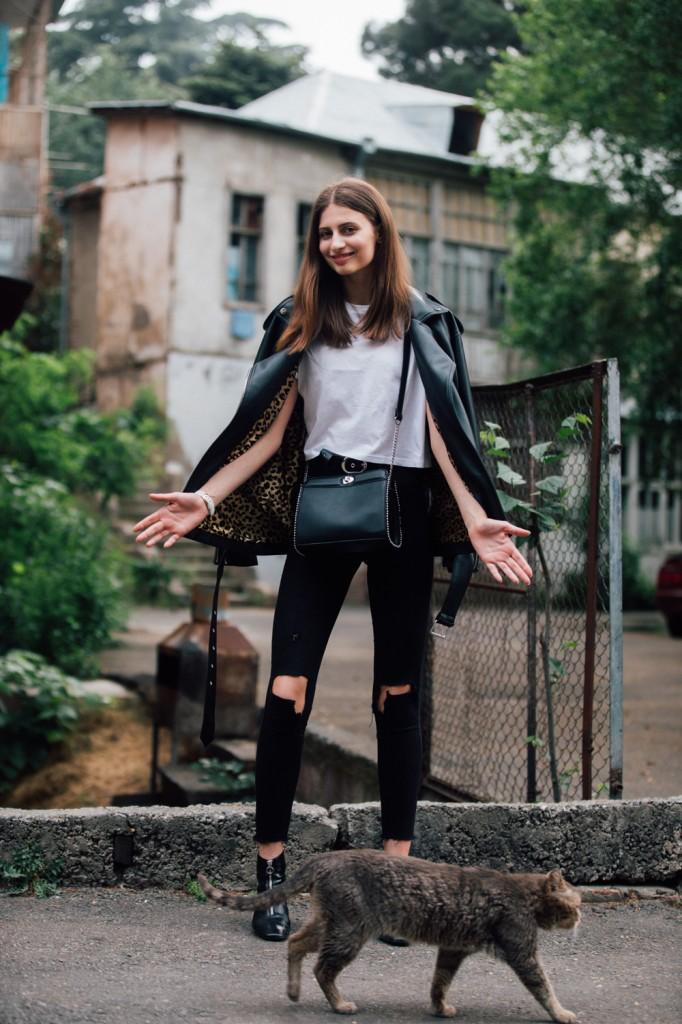 Beatris Klimenko: Model Off Duty Style - Elite Model Look