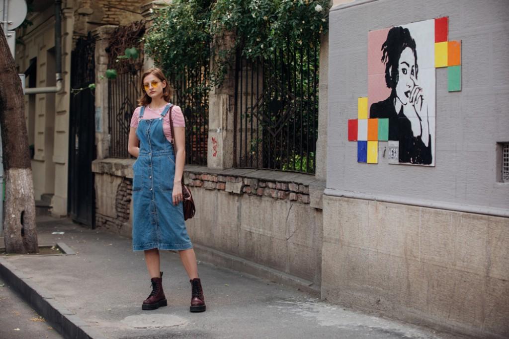Keta Lomadze : Model Off Duty Style