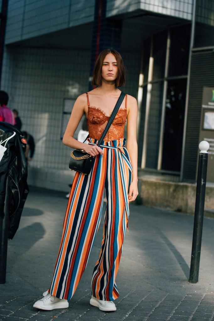 Girls Model Street Style At Paris Fashion Week Spring Summer 2019